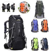 50L Climbing Outdoor Travel Backpack Sports Day Sack Camping Hiking Rucksack Bag