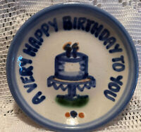 M. A. Hadley 4 Inch Coaster/Saucer: A Very Happy Birthday To You (2 Candles)