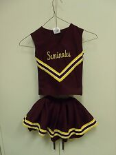 FLORIDA STATE UNIVERSITY SEMINOLES CHEERLEADER OUTFIT HALLOWEEN COSTUME YOUTH S