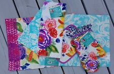 """NWT The Pioneer Woman """"Celia"""" 6 pc Kitchen Set Towels Oven Mitt Set  Placemats"""