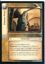 Lord Of The Rings CCG Card RotEL 3.C36 Unknown Perils