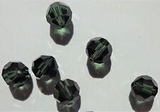 Swarovski crystal beads 6mm 5000 TURMALINE - bulk pack (360pcs)