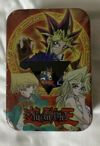 Yu gi oh Retro Mini Tin with neck strap and Badge (pin) SEALED