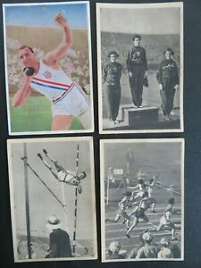 Reemstra cigarettes 4 Olympics 1932 Mildred 'Babe' Diedrikson (2) Sexton Bausch