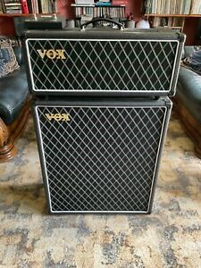 Vox AC15CH amp head & custom made Vox 2x12 AlNiCo Blue speaker cabinet
