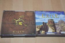 lot 2 Jeux PC The Myst 2 et 3 : Riven / Exile - VF