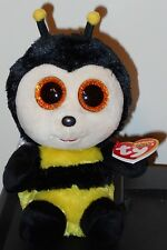 """New ~ 2017 Ty Beanie Boos ~ BUZBY the Bumble Bee 6"""" Size"""