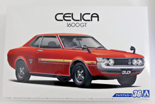 Aoshima 1972   '72 Toyota Celica 1600 GT in 1/24  53188  ST