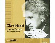 CD CLARA HASKIL 11 sonatas for paino DOMENICO SCARLATTI philips 1999 ex+