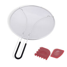 304 Stainless Steel Grease Splatter Screen Guard for Frying Pan & Skillets FDA