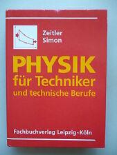 Physik für Techniker und technische Berufe 1992