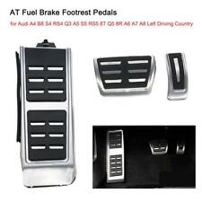AT Fuel Brake Footrest Pedals for Audi A4 B8 S4 A5 S5 RS5 8T Q5 8R A6 A7 A8