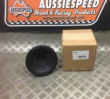 Weiand Chevy supercharger 6 inch lower Bottom pulley 6 rib long water pump type