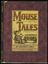 Lobel, Arnold: I Can Read: Mouse Tales (1972) HB/DJ 1st/1st
