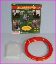 """BagMouth LARGE TRASH and LAWN BAG KEEP-OPEN HOLDER Bag Mouth 18"""" Diameter NEW"""