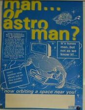 Man Or Astroman? Live Transmission From Uranus Poster