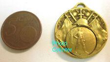 Médaillon patriotique allégories militaires S.C.F.A. Exactitude 1ere Cl. 1923