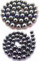 2mm 4mm 6mm 8mm 10mm 12mm 14mm Hematite Round Gemstone Beads 15''