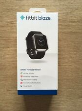 BRAND NEW | FitBit Blaze Fitness Watch ❤️ Heart Rate Monitor | BLACK | SMALL