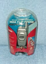 INNOVAGE - Deluxe Corded Handheld Mini Flip Phone w/ Hands Free Headset - NEW