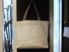 Borsa LANVIN pelle bianca due manici VINTAGE nuova da negozio-leather bag