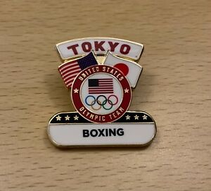 Tokyo 2020 USA Boxing sport dated NOC pin