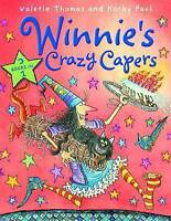 Winnie's Crazy Capers (Winnie the Witch) by Valerie Thomas, Very Good Used Book