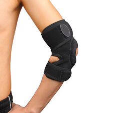 AM1 Sport Protector Open Adjustable Hinged Elbow Support Brace Lint-Free Climb