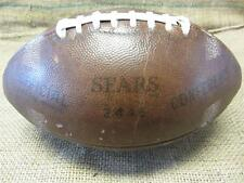 Vintage 1960s Sears 2446 Official Conference Leather Football > Antique 8057