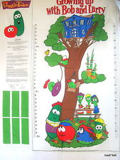Veggie Tales Baby Growth Chart Fabric Panel Cut n Sew Tree wallhanging