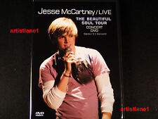 Jesse McCartney live concert dvd THE BEAUTIFUL SOUL tour show in video brand new