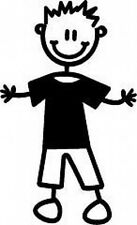 Sticker ~ MY FAMILY  Car Stickers  ~ BOY  ~ IN PLAIN CLOTHES (B6)