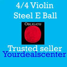Pirastro Obligato Violin Strings Set 4/4 Gold E Ball End -- Stark