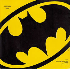 "PRINCE Partyman BATMAN PICTURE SLEEVE 7"" 45 record + juke box title strip NEW"