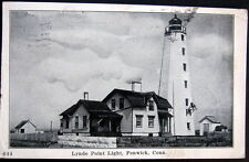 FENWICK CT ~ 1920's  LYNDE POINT LIGHT   ~  LIGHT HOUSE