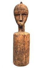 Art Africain Arts Premiers - Objet Usuel Ancien - Poteau de Champ  - 48,5 Cms
