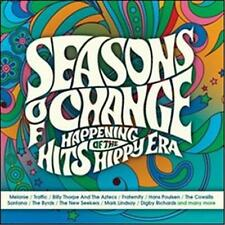 SEASONS OF CHANGE Happening Hits Of The Hippy Era VARIOUS ARTISTS 3 CD NEW