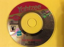 Yahtzee General Mills Mini ROM Hasbro PC Game Full Version (Win 95/98) RARE