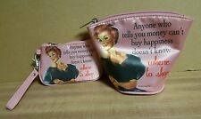 Cosmetic Bag and Coin Purse by Vandor