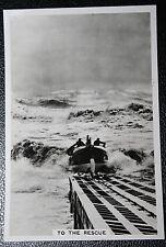 RNLI  LIZARD LIFEBOAT    Original 1930's Vintage Photocard  VGC