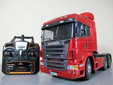 Tamiya RC 1/14 Scania R620 Highline Semi Truck Futaba Servo ESC Kyosho 2.4GHz