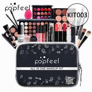 24Pc Full Set Makeup Bag Beginner Cosmetics Kits for Women Men Styling Designer