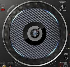 PIONEER CARBON FIBRE DDJ-RZ DDJ RZX JOG / SLIPMAT GRAPHICS / STICKERS CDJ DJM