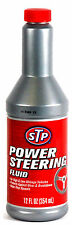 STP POWER STEERING FLUID 12OZ (354ML) PUMP OIL HYDRAULIC STEER SYSTEM