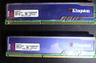 KINGSTON HYPERX BLU 2X4GB 8GB DDR3 1333 PC3-10600 RAM MEMORY KHX1333C9D3B1K2/8G