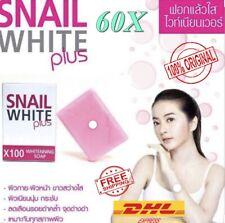 60x Snail White Soap Bar Glutathione x10 Pink Anti Aging Acne Whitening Skin 70g