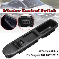 Interrupteur Lève Vitre Passager pour Peugeot 207 07-15 6490.HQ 6554.HJ 6554QL