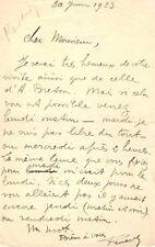 LETTRE AUTOGRAPHE DE PIERRE REVERDY  (1923 / ANDRÉ BRETON) / SURRÉALISME