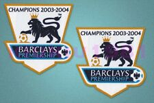 England Premier League Champion 2003/2004 Sleeve Gold Patch / Badge Arsenal