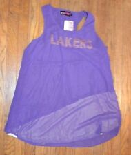 Miss Fanatic Lakers Dress Size Large BRAND NEW WITH TAGS